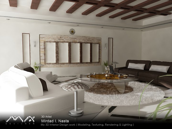 My 3D Interior Works ....