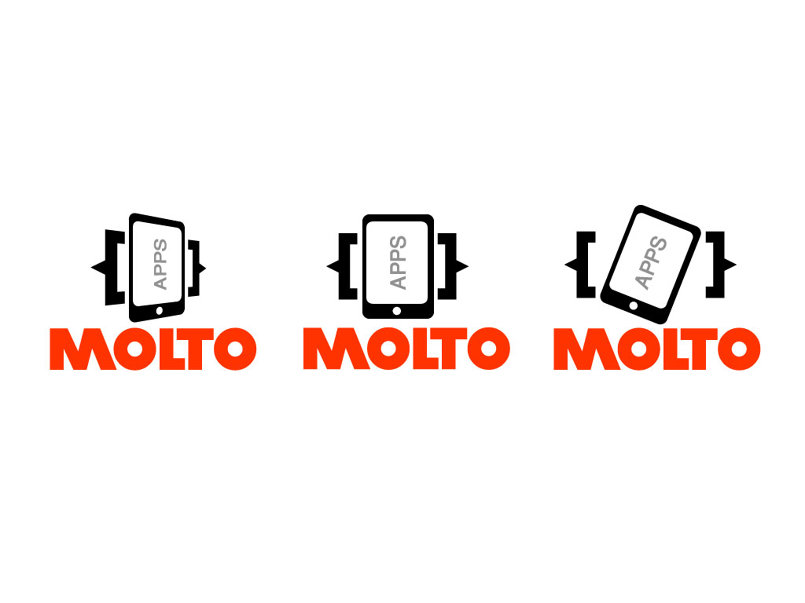 MOLTO APPS logo design