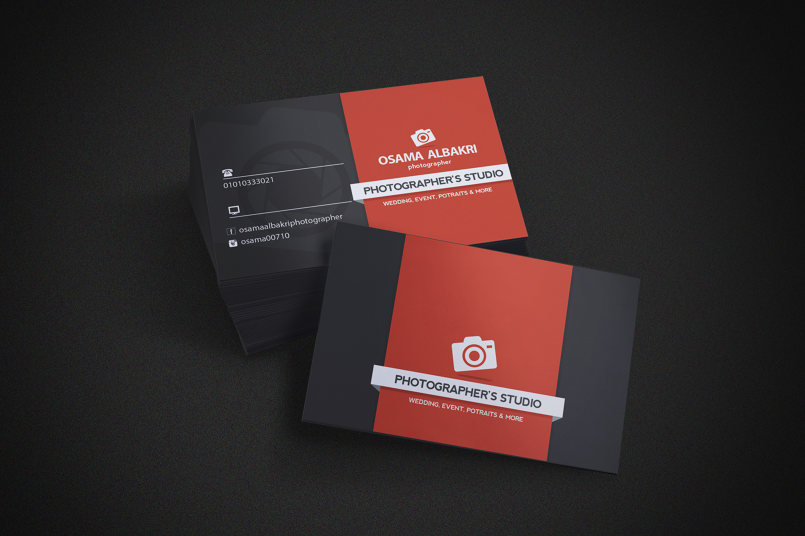 Business-Card Photography