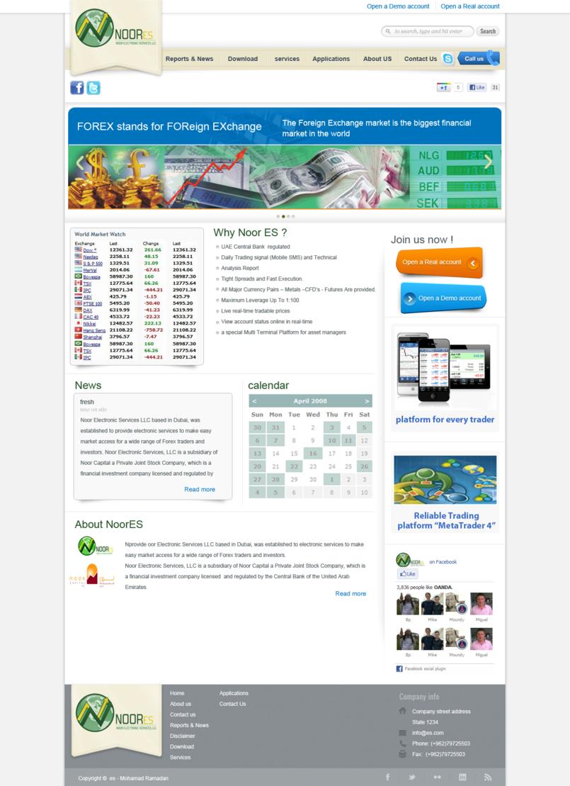 Web Design - NoorES