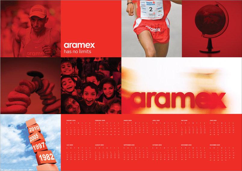 Calendar, Aramix, Kuwait, 2008