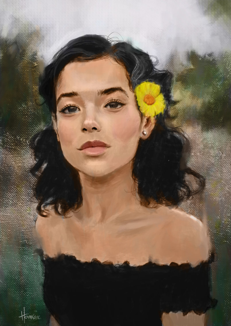 Portrait of a daisy