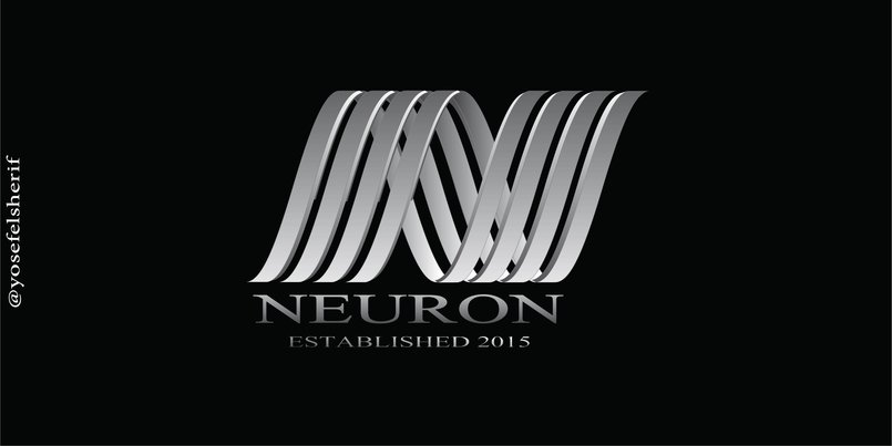 neuron logo design