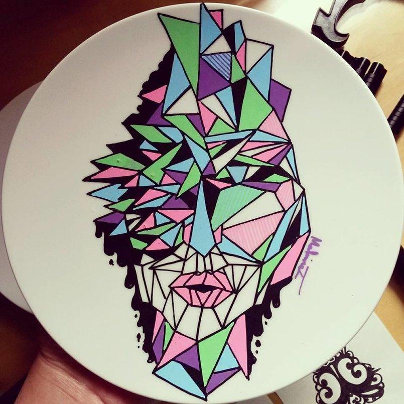 1 - Art on plates