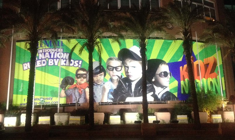 KidzNation Outdoor Banner at Le Mall , Lebanon