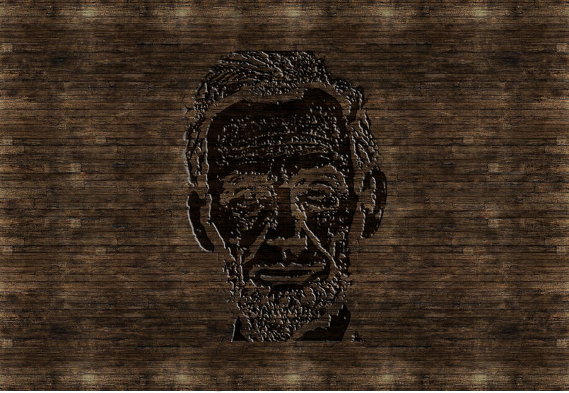PHOTO into a WOODCUT Carving