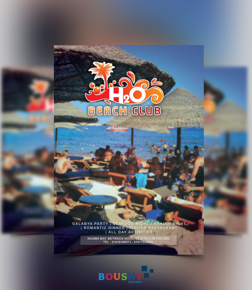 H2o Beach Club Flyer