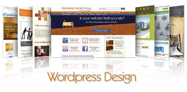 انشاء موقع كامل باستخدام الووردبريس