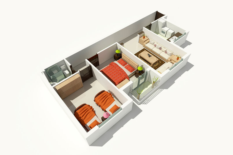 Apartment Interior's concept