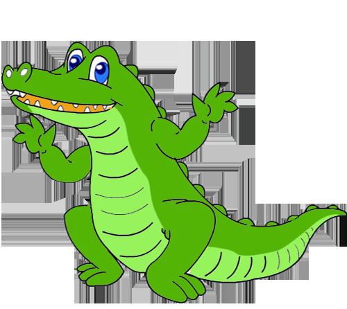 رسمة تمساح للعبة للموبايل