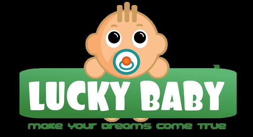 """Logo """" lucky baby"""