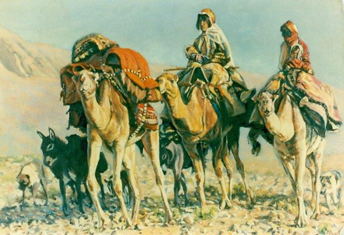 Oil painting & digital illustration