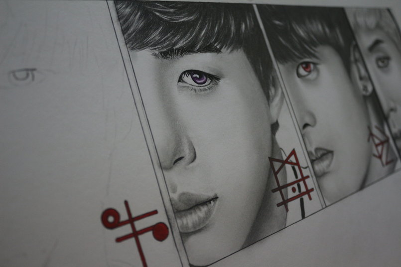 vixx_korean fanart