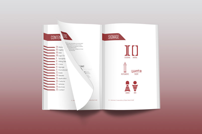 Lebanese Conservatory of Music Brand Toolkit