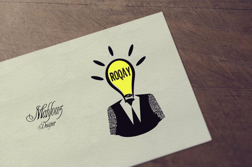 تصميمي لوجو لمسابقة شركة رقي