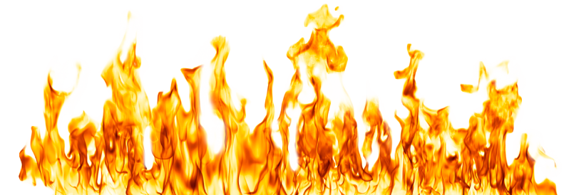 شعلة نارية محمولة من النت