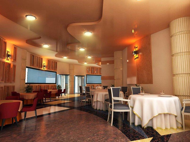 صالة مطعم