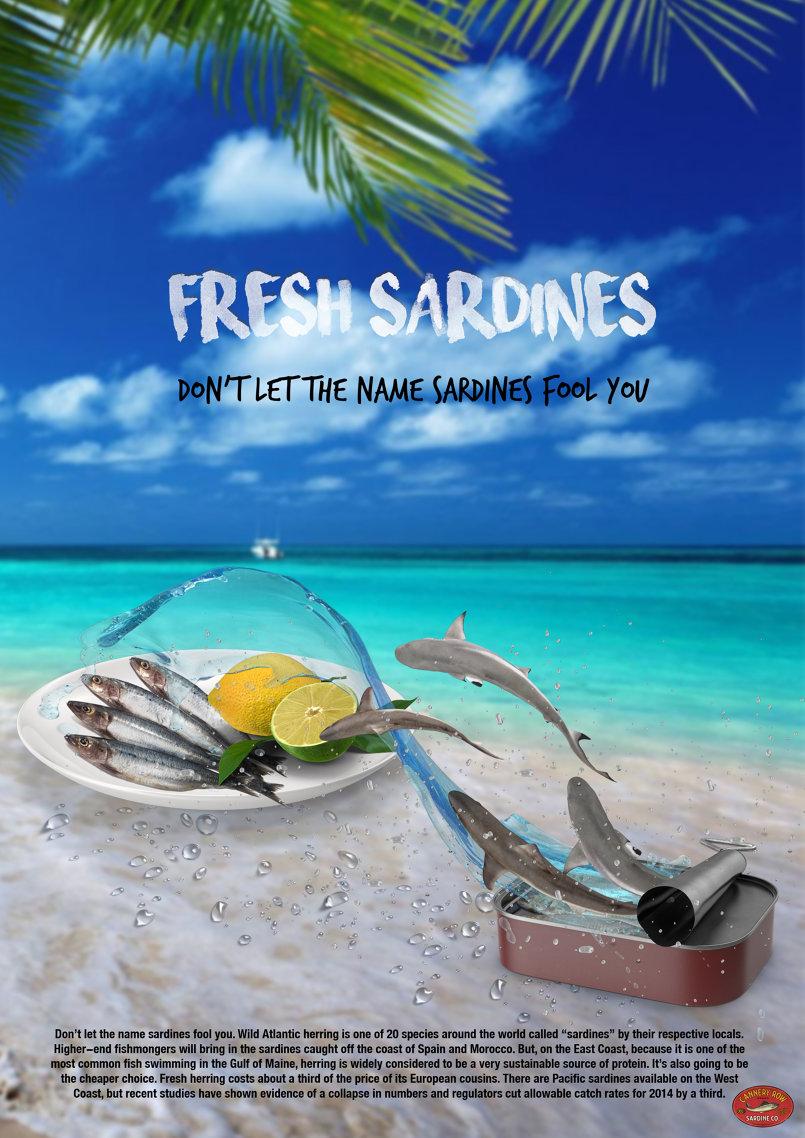Fresh sardines AD
