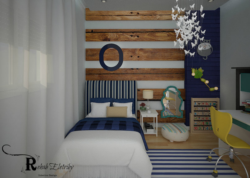 My Interior Design work Boy Room - 4 Years old  ,3D max 2014  ,Vray 3.3  Photoshop CC 2015 I hope it will be awesome  :) :)
