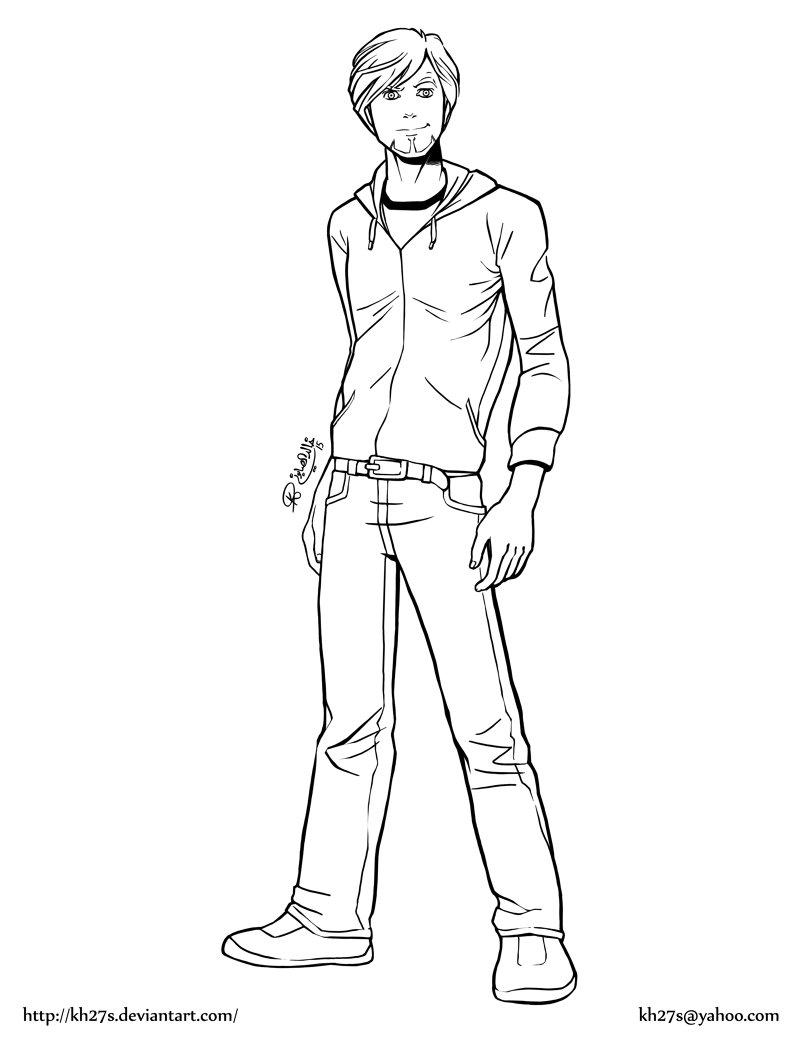 Just a random character.