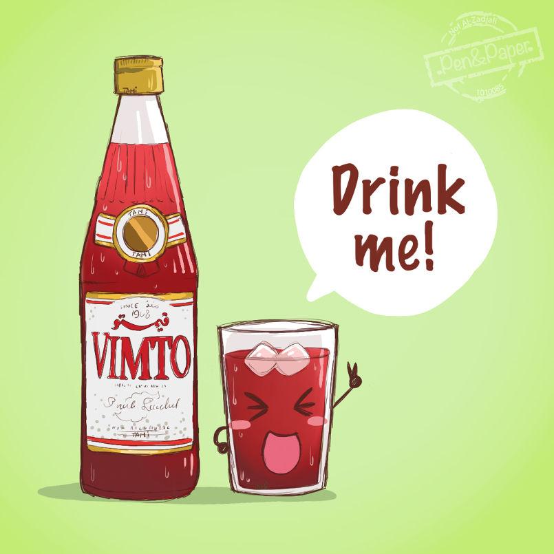 Vimto : Drink Me !