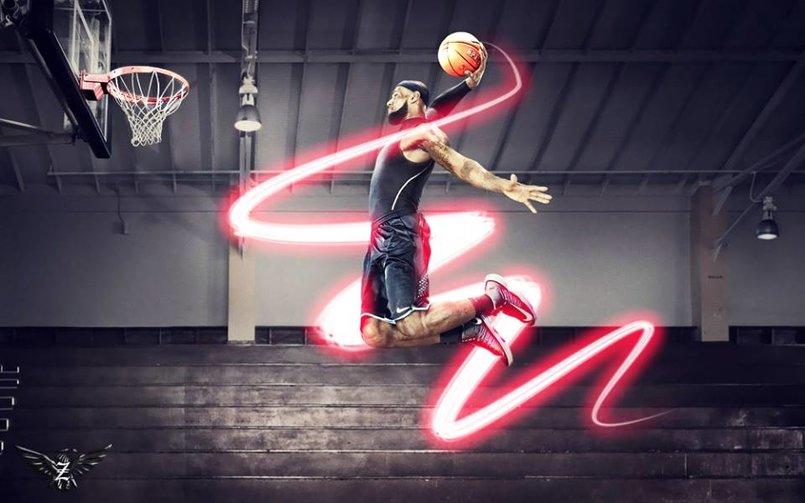 رجل كرة السلة