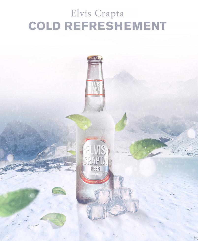 Elvis Crapta - beer Ad