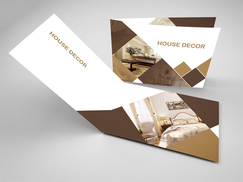 House Decor .. Booklet mockup