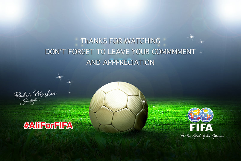 I SUPPORT PRINCE ALI FOR FIFA PRESIDENT.  #aliforfifa
