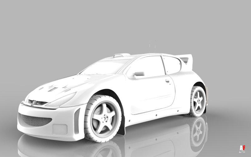 Peugeot sport car