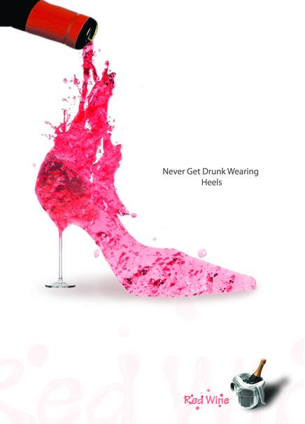 Never Get Drunk wearing Heels...