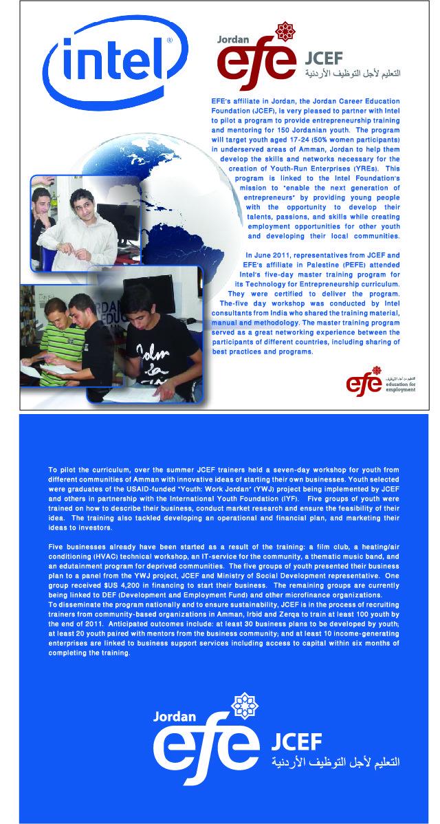 Jordan Career Education Foundation (JCEF)