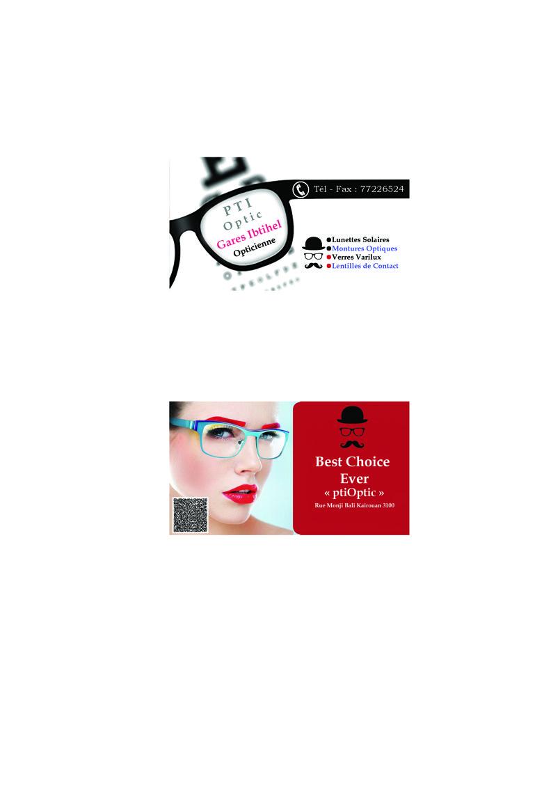 "Business Card ""PTI-OPTIC"