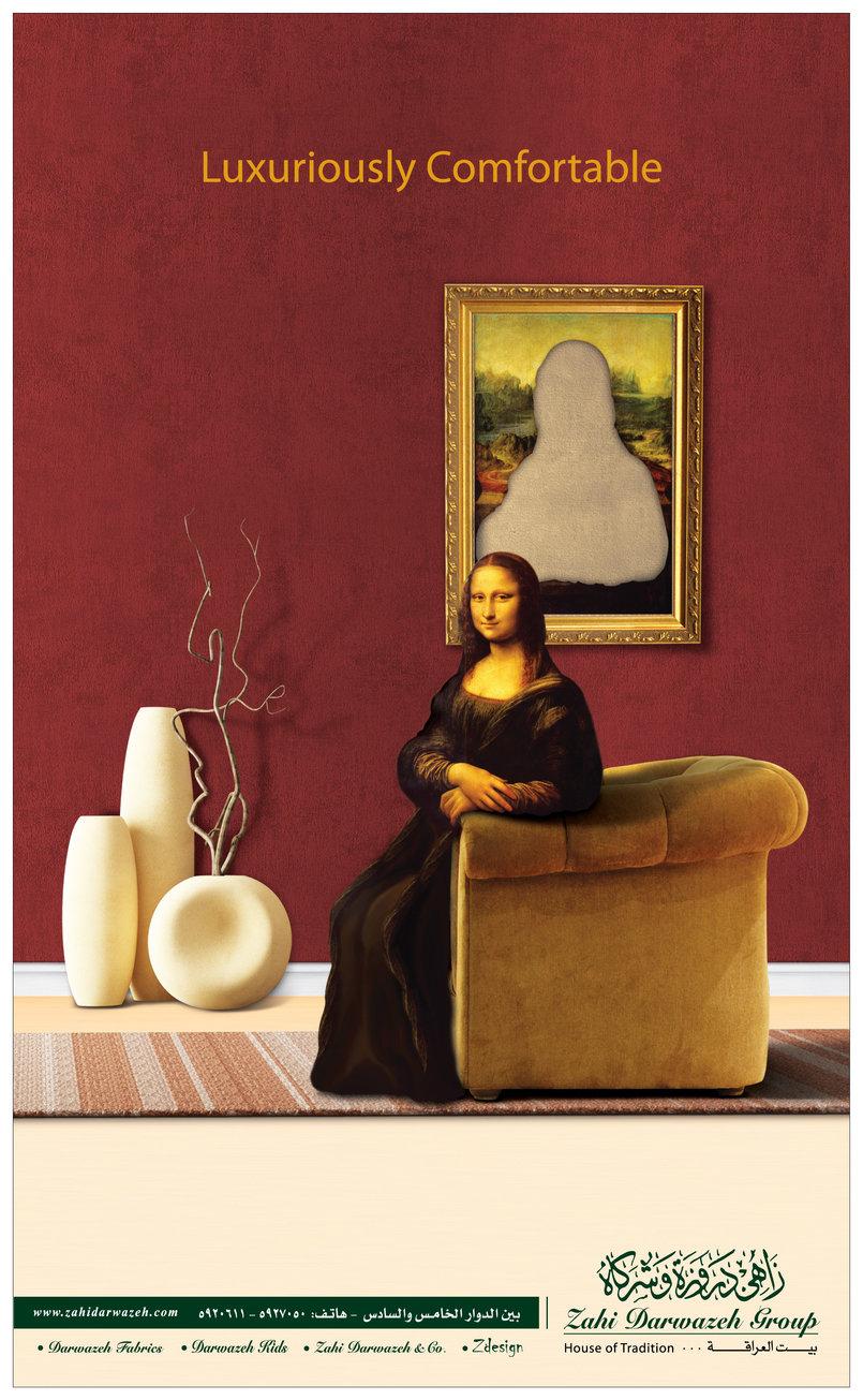 Zahi Darwazeh Furniture Ad