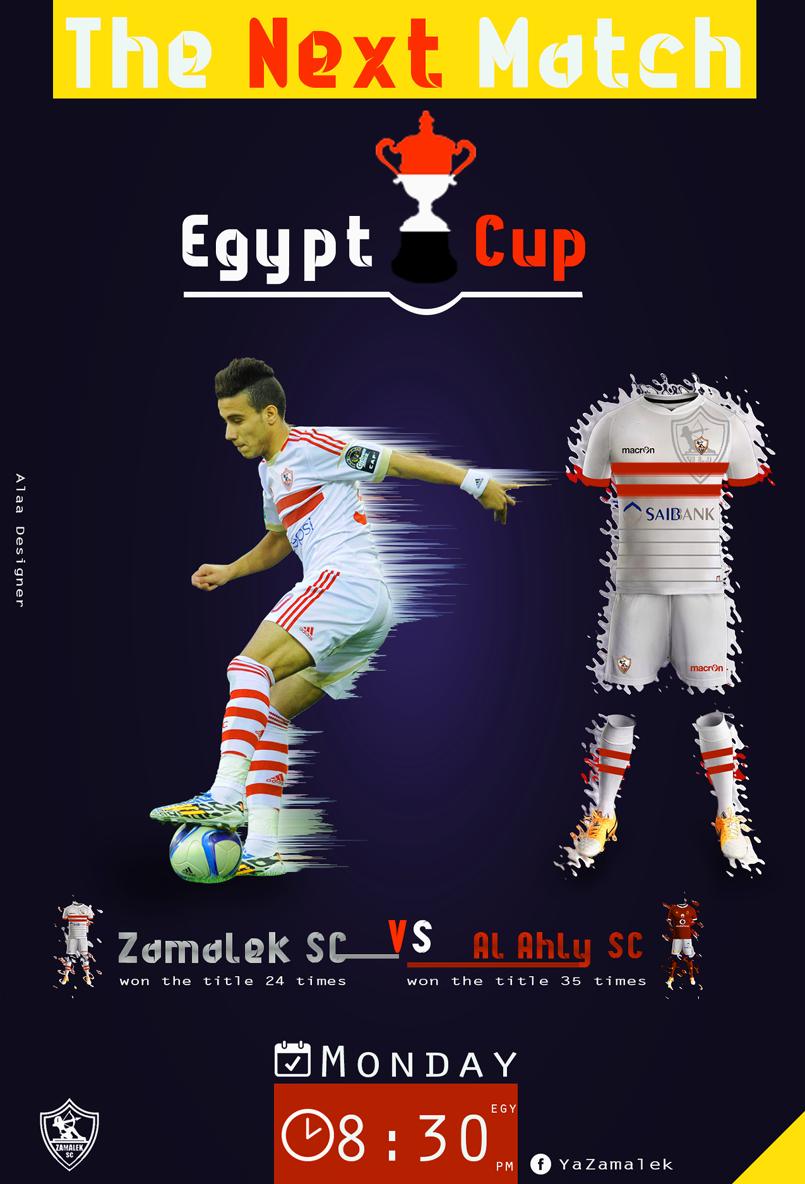 zamalek VS Al Ahly Match - page yazamalek