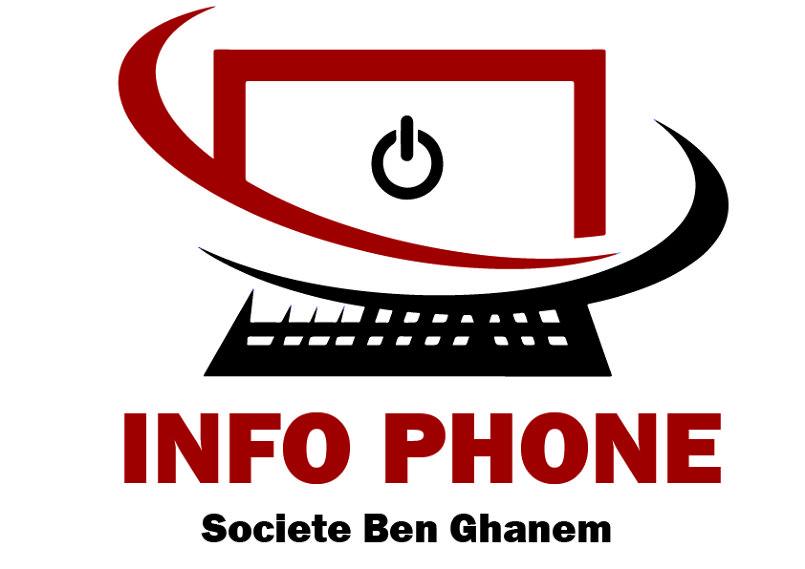 """Logo """"INFO PHONE"""