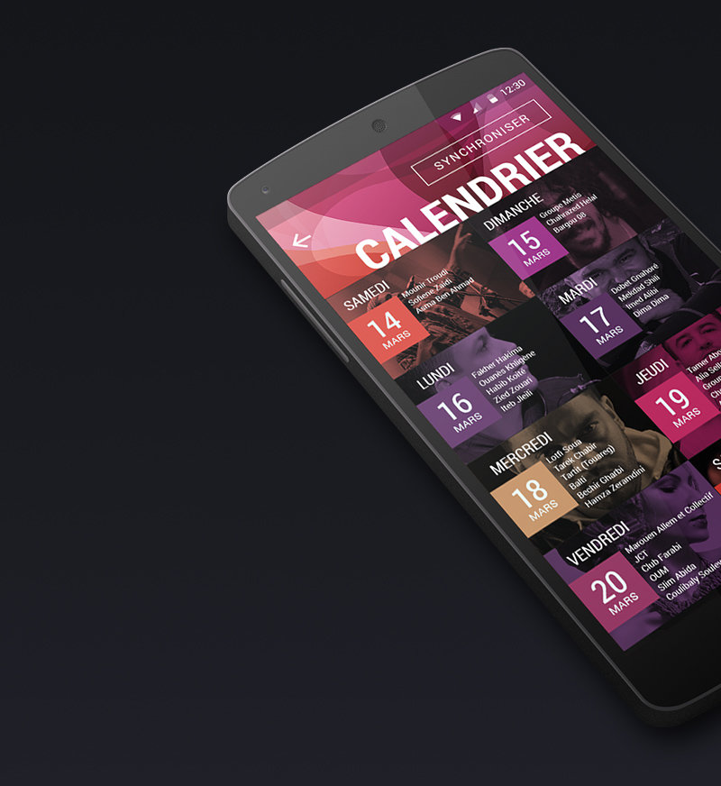 JMC android App