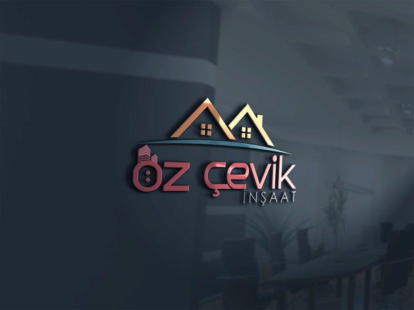 شعار لشركة انشاءات تركية