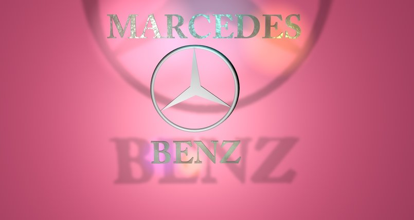 تصميم شعار لميرسيدس