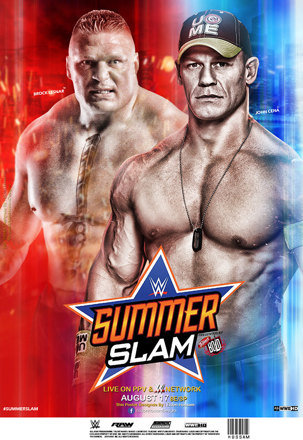 https://www.behance.net/gallery/18940765/WWE-SummerSlam-2014-PPV-Poster