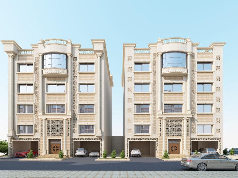 عمارتين في مكة