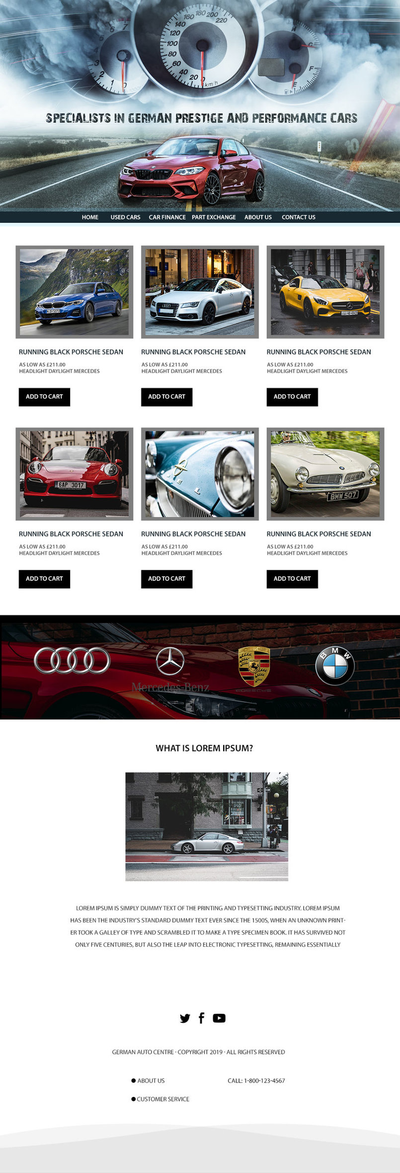 used car web site