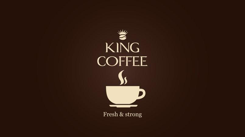 Logo King Coffee