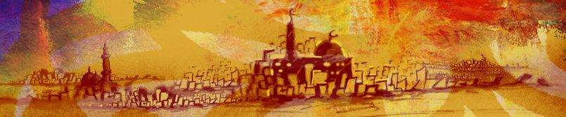 قلب معلق بالمساجد
