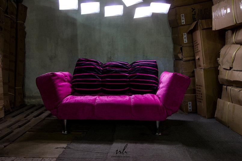 Sofa Bed Photo Shoot BTS