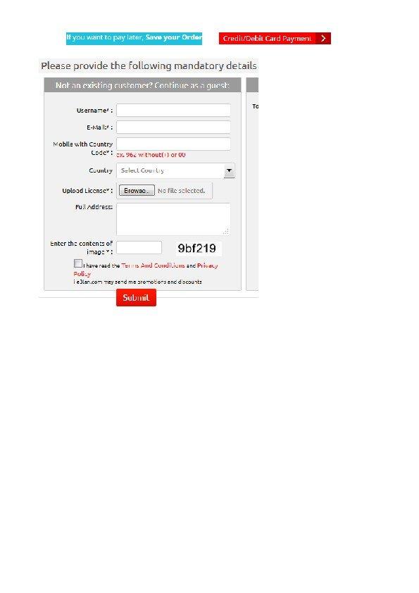 Revamp the current website www.i-e3lan.com