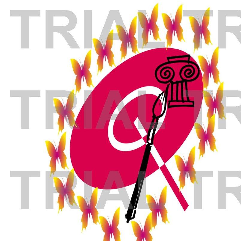 تصميم شعار لوج احترافى  لى اتليه اعمال فنيه
