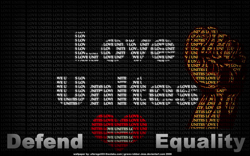 "a remix of Shepard's ""Love Unites""  (http://obeygiant.com/prints/defend-equality)"