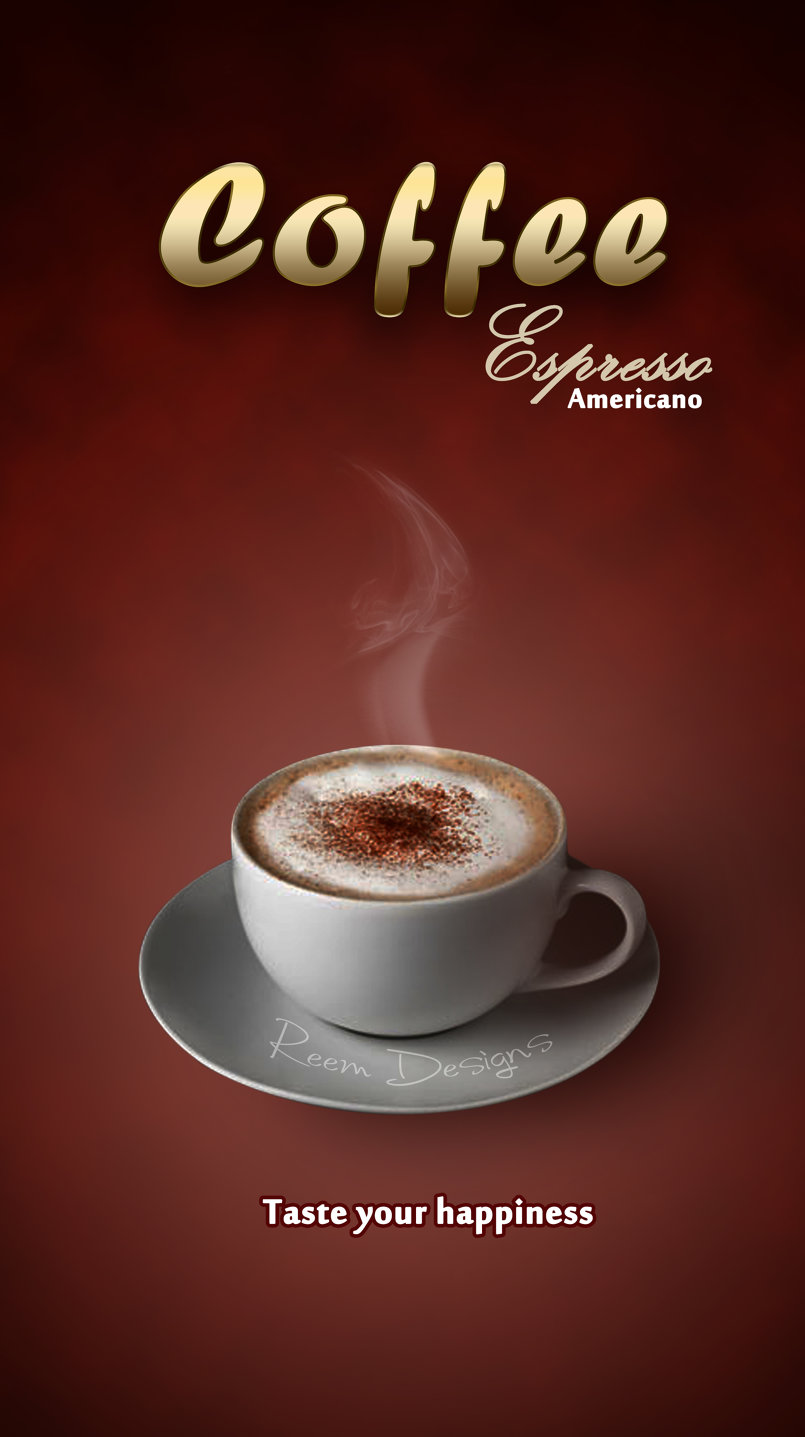 Coffee brochure design