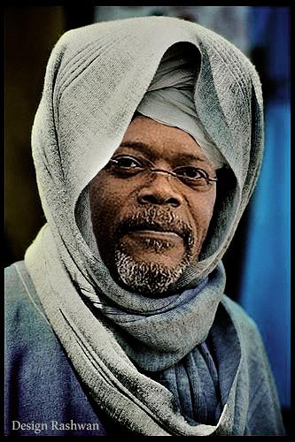 الممثل الأمريكى صامويل جاكسون American actor Samuel L. Jackson